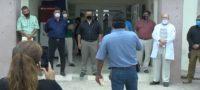 Castañenses toman la presidencia municipal.