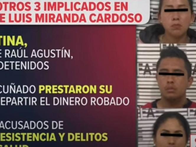 Detienen a 3 personas por probable participación en el asesinato del notario Luis Miranda