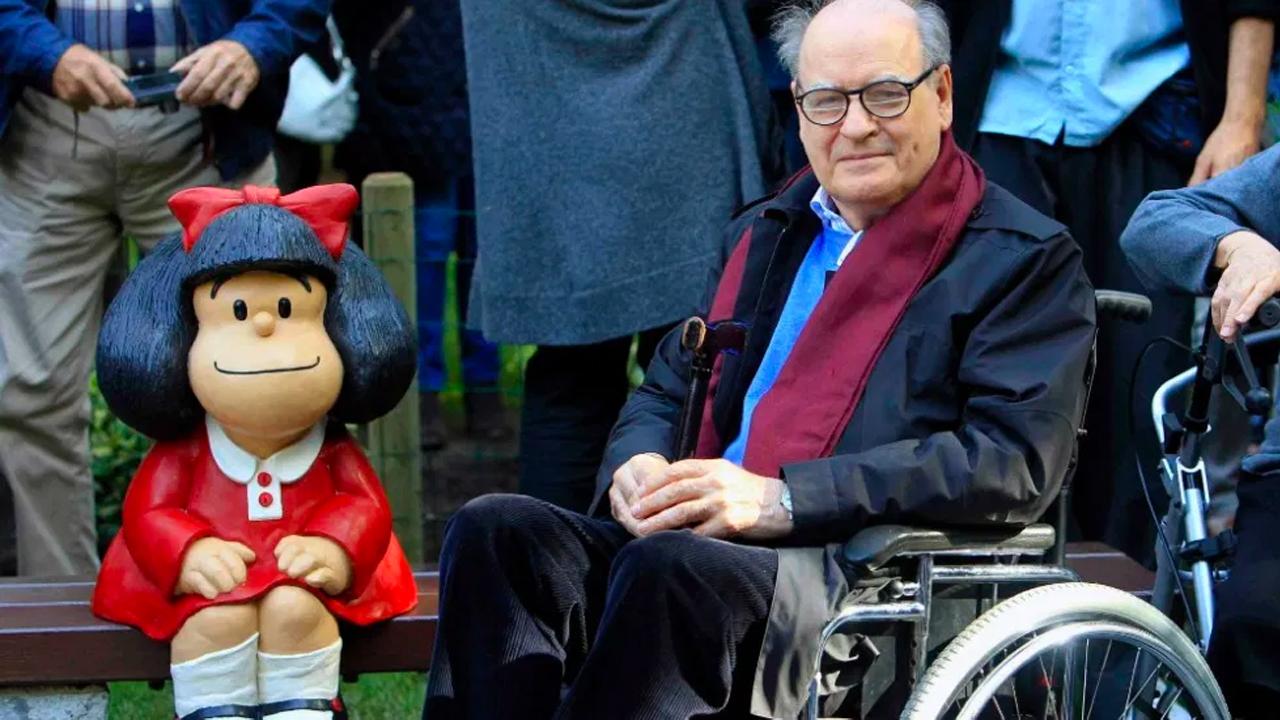 Muere Quino, creador de Mafalda y reconocido dibujante argentino
