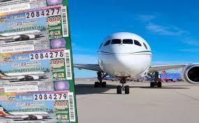 A tan solo horas de la rifa del avión presidencial, aún faltan por vender 1 millón 821 mil cachitos