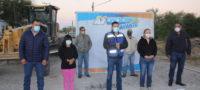 Supervisan obra de pavimentación en la colonia Ramos Arizpe