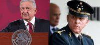 """Se niega AMLO a pagar defensa de Cienfuegos en EU, """"no vamos a usar recursos públicos"""""""