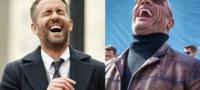 Ryan Reynolds se despide de la Roca tras finalizar rodaje de 'Red Notice' con divertida fotografía