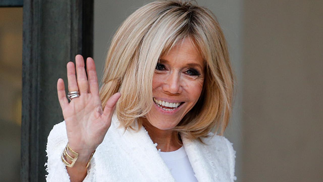 Se somete a cuarentena primera dama de Francia tras contacto con enfermo de Covid