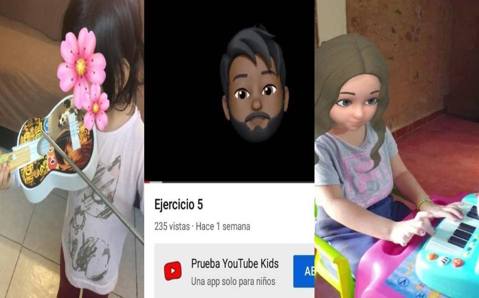 Docente enseña música a distancia ¡Con un avatar! En Guanajuato