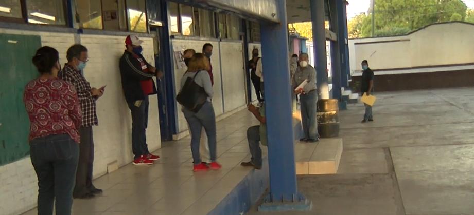 Ausencia de funcionarios y escrutadores del INE al sur de Monclova.