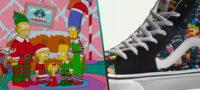 """Lanzan Vans y """"Los Simpson"""" nueva colección de tenis deportivos versión navideña"""
