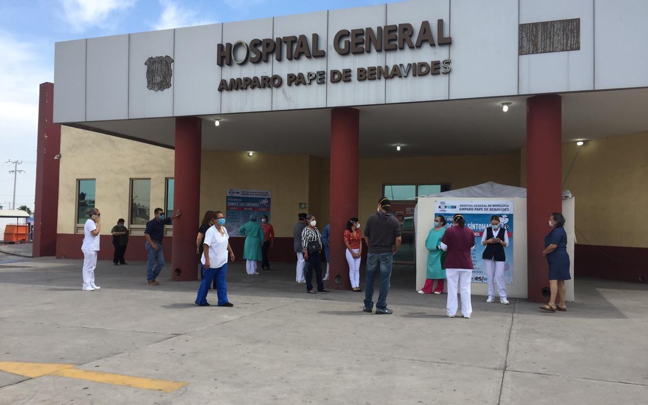 Implementan protocolos estrictos de visitas a familiares de pacientes en el Hospital Amparo Pape de Monclova