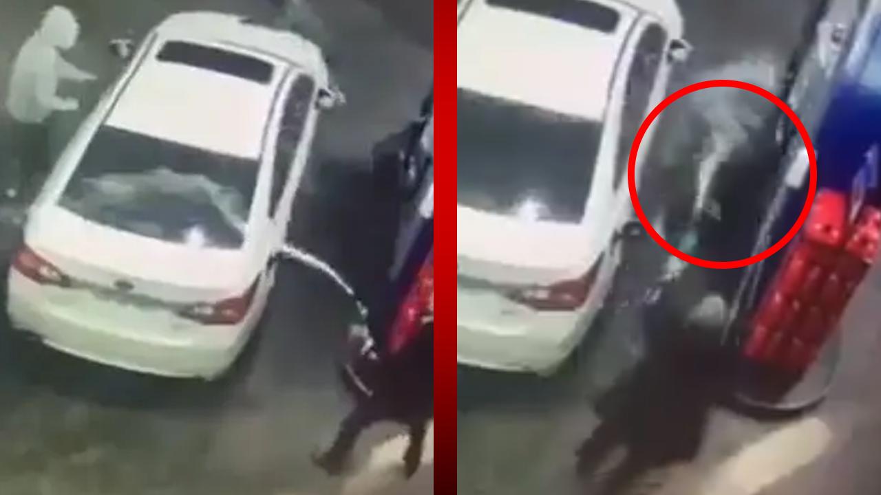Hombre baña a ladrones en gasolina para evitar que le roben