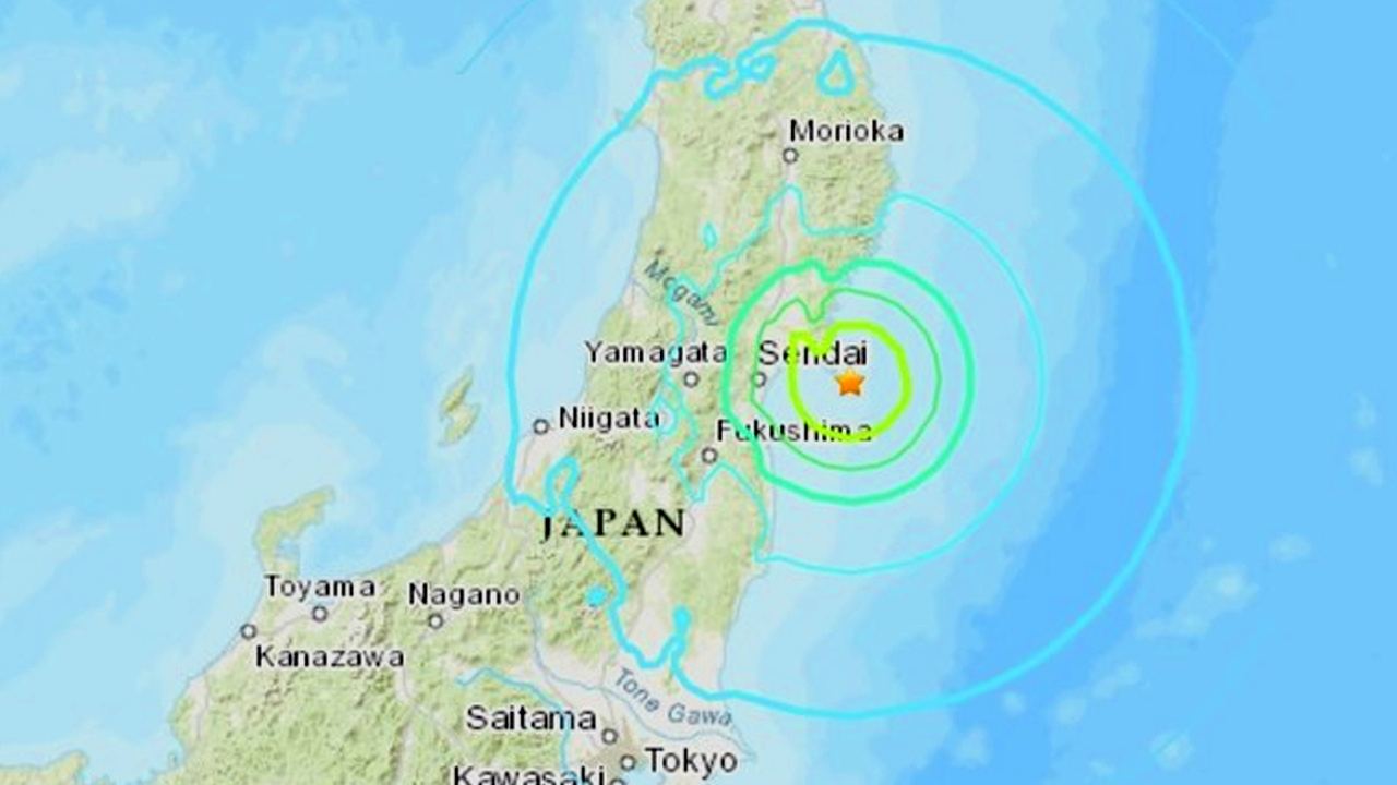 Sismo de magnitud 6,8 sacude las costas de Japón