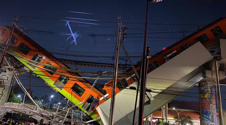 Tragedia en CDMX; confirman 23 muertos tras desplome de un puente elevado del metro
