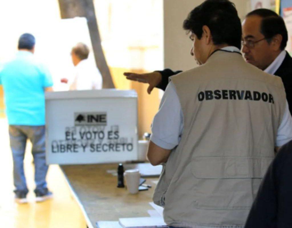 INE amplía hasta el 7 de mayo para registrarse como Observador Electoral