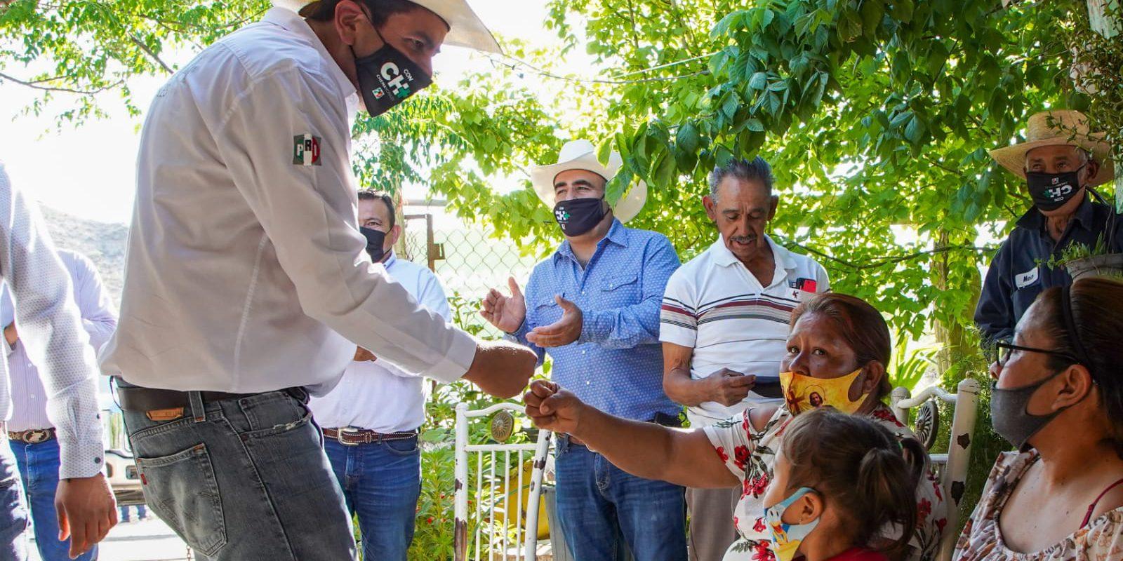 Pide Chema Morales a la gente del campo seguí confiando en su proyecto