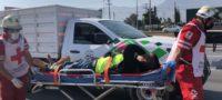 #Policiaca: Trabajador municipal lesionado en accidente