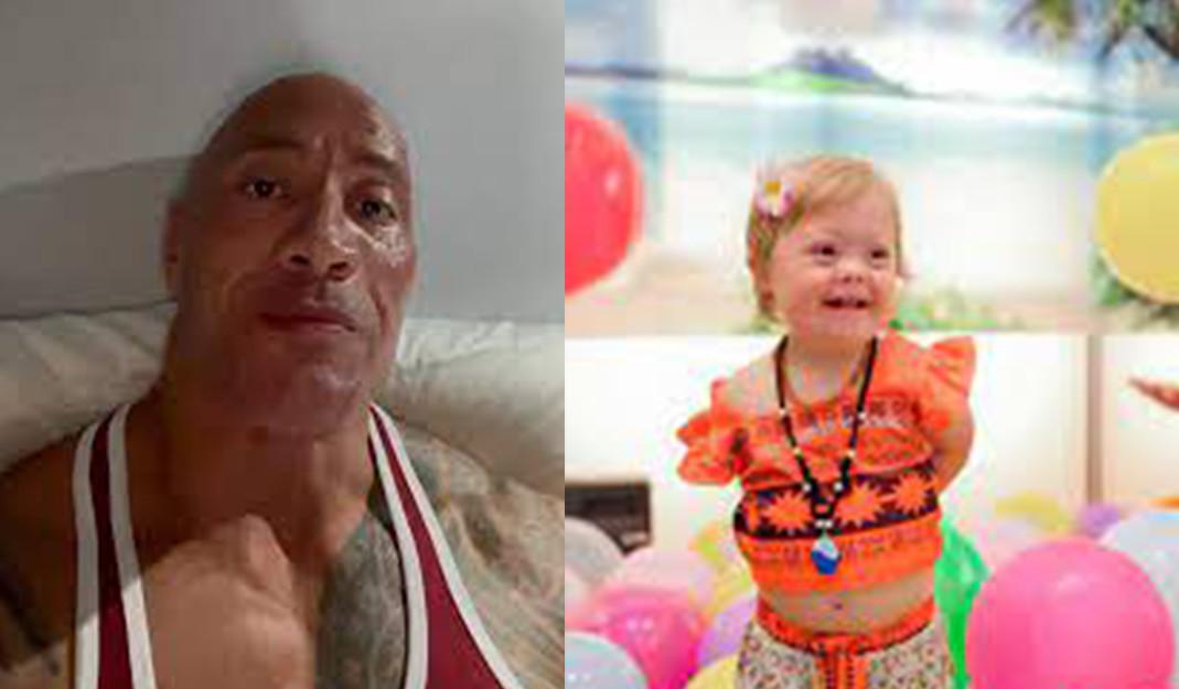 Niña de 4 años que lucha contra el cáncer recibió un emotivo mensaje por La Roca