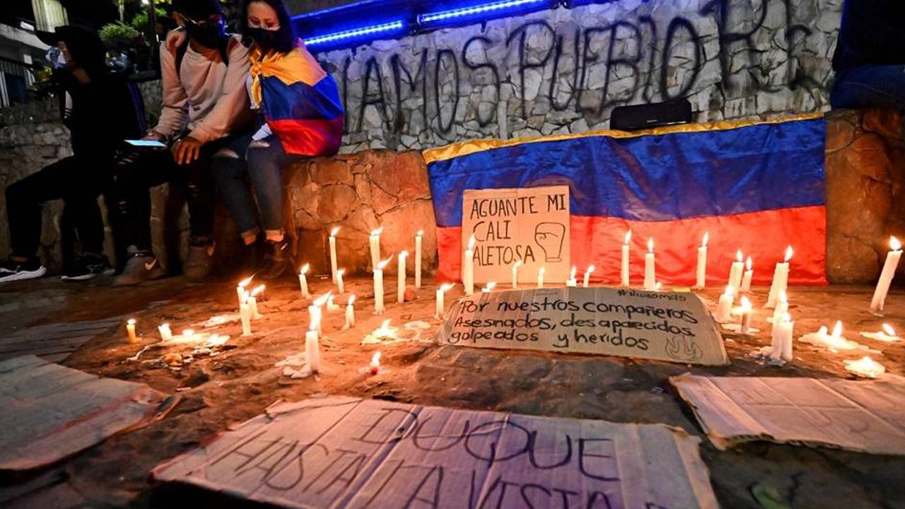 Van 19 personas muertas durante las protestas en Colombia