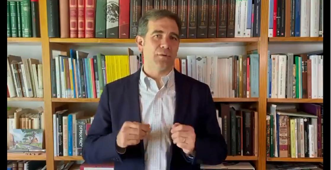 Ataques contra el INE son parte de las campañas, deben aceptar las derrotas: Lorenzo Córdova