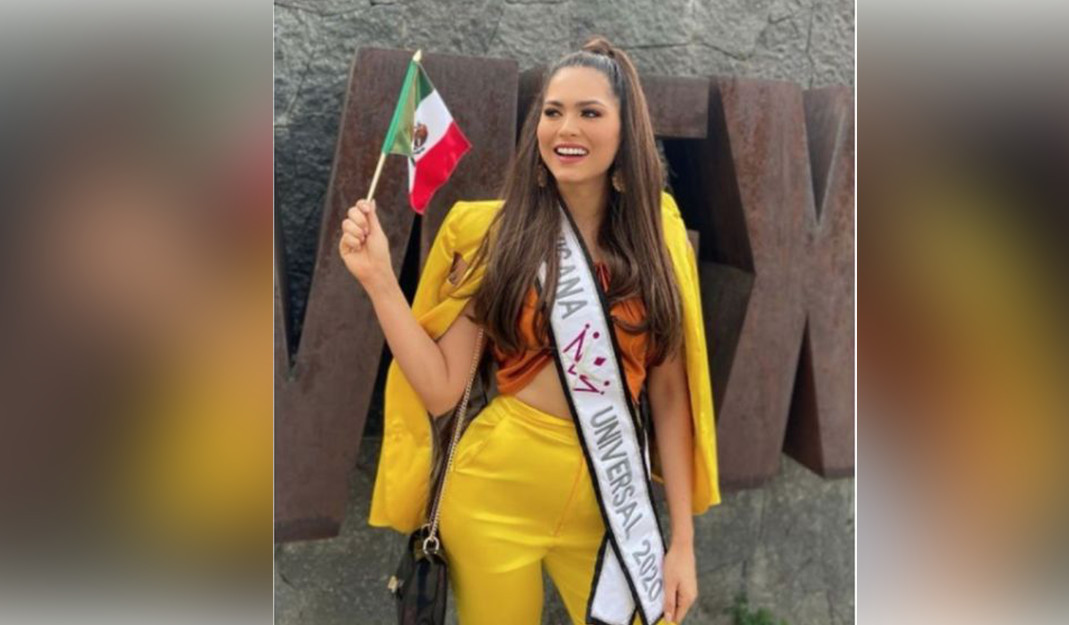 Andrea Meza de Chihuahua, llevará el nombre de México en Miss Universo 2021