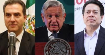 MORENA no compra el voto: Ataca Mario Delgado a Adrián de la Garza, respalda a AMLO