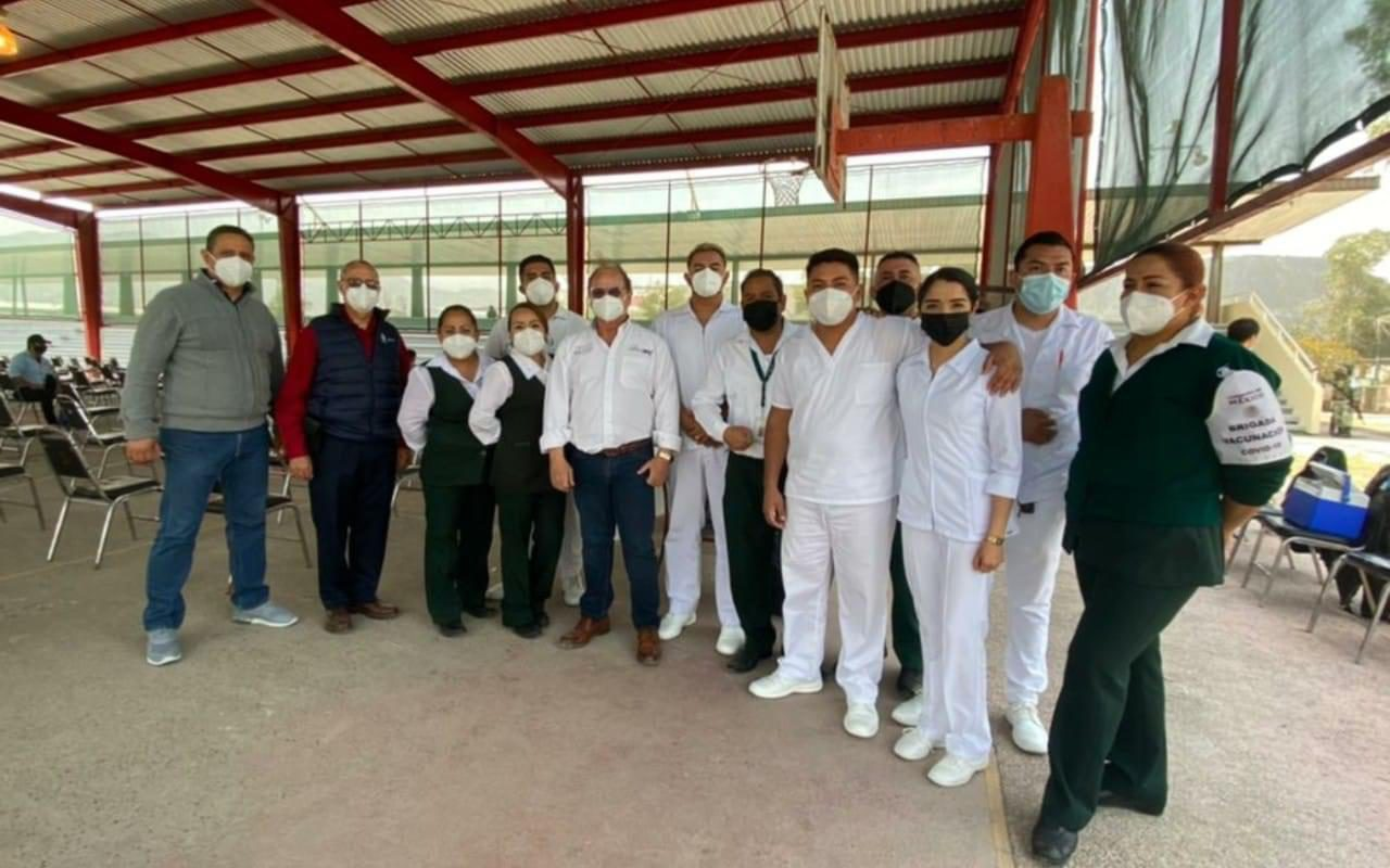 Colabora Salud Coahuila En Módulos De Aplicación De Vacunas Covid Para Adultos Mayores