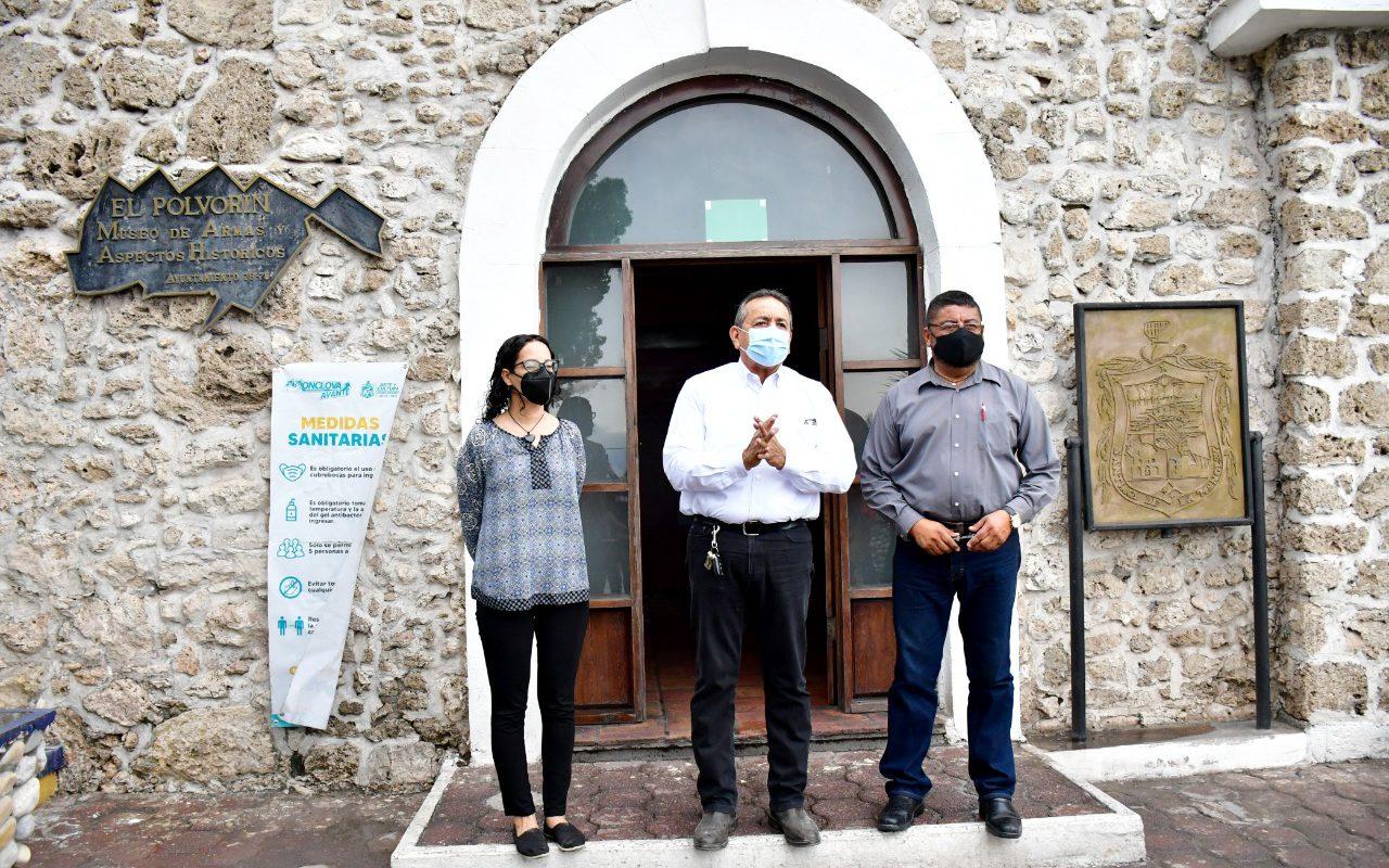 Invita Alcalde de Monclova a visitar el Museo el