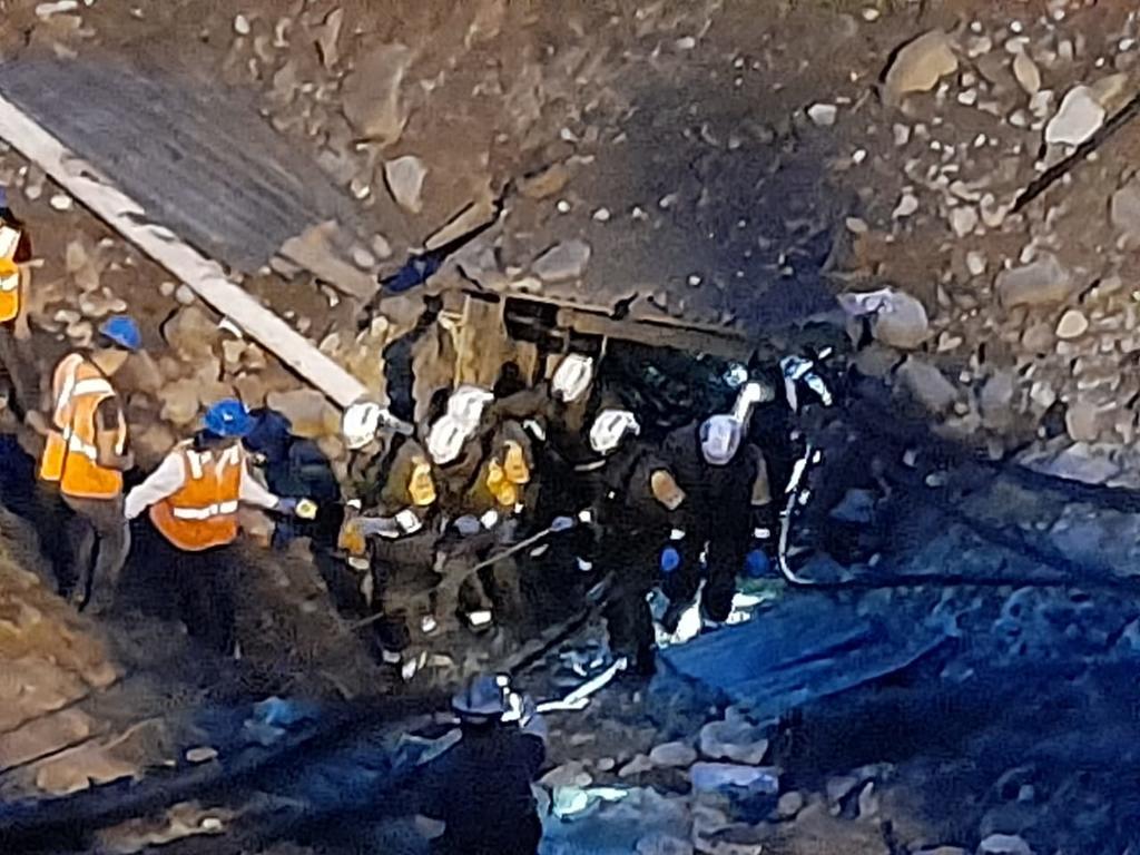 Rescatan sin vida a quinto minero en Múzquiz; lo encontraron a cinco días del accidente