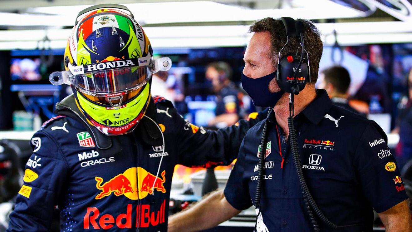 Checo Pérez, el Rey Midas; gana su primer carrera con Red Bull y vence a Hamilton