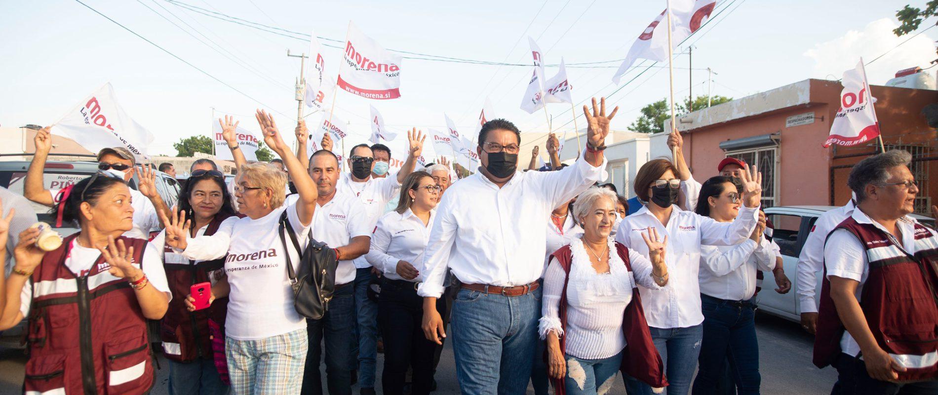 Reconoce Bella Alemán triunfo de Roberto Piña en Frontera