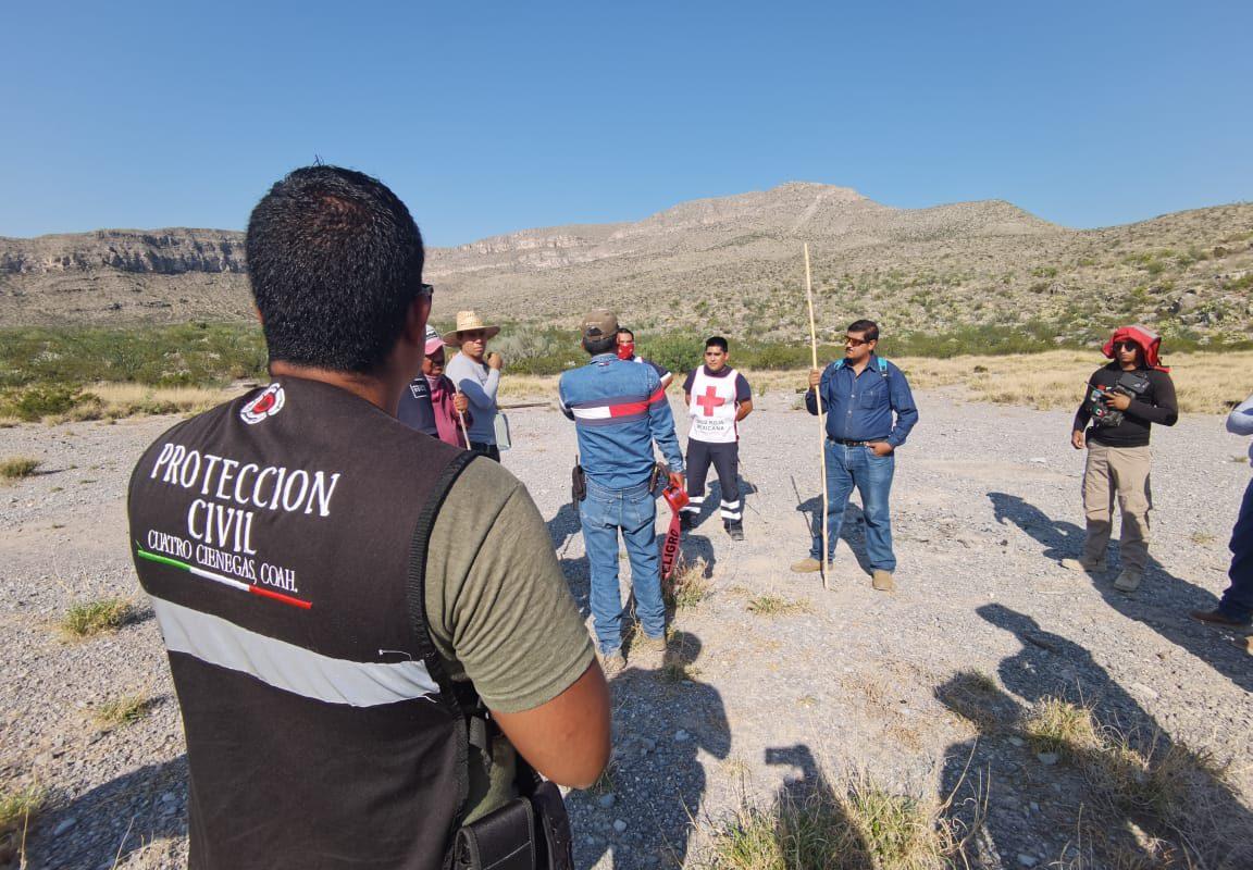 Reportan a desaparecido en cerro de Cuatro Ciénegas
