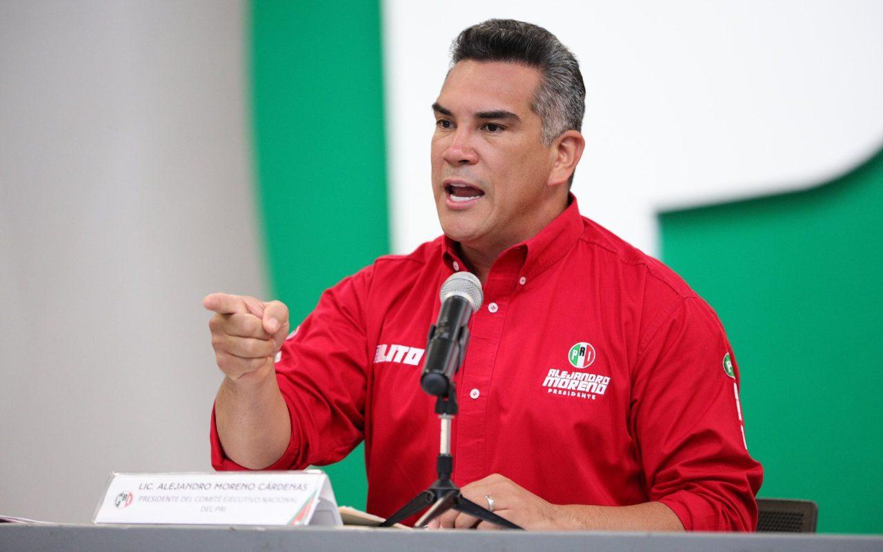 Quien quiera dividir al PRI, no quiere al país y quiere hacerle el juego a AMLO: Alejandro Moreno