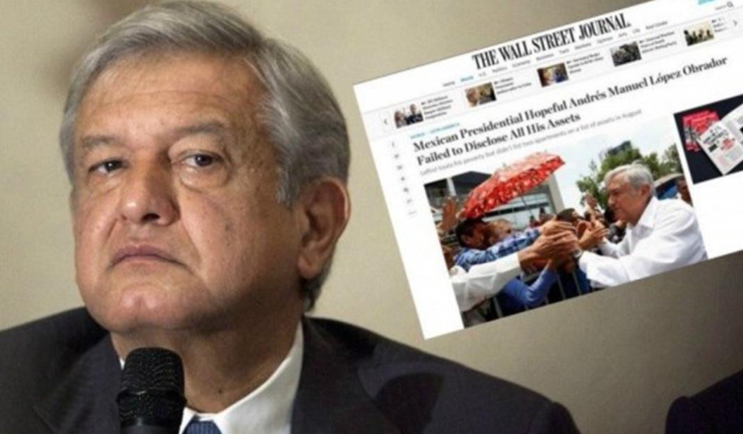 Mexicanos ponen un freno a AMLO y a sus ambiciones de la 4T radical; Wall Street Journal