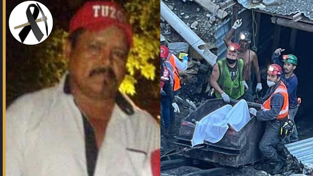 Bernardo tenía 54 años, y murió atrapado en la mina de Múzquiz; fue el primer minero rescatado