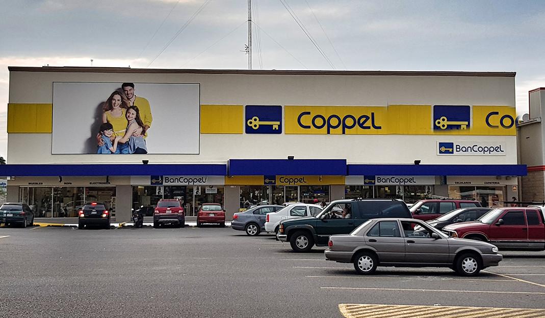 Otorgan crédito por 40 mil mdp a Coppel; lo usará en expansión y refinanciamiento