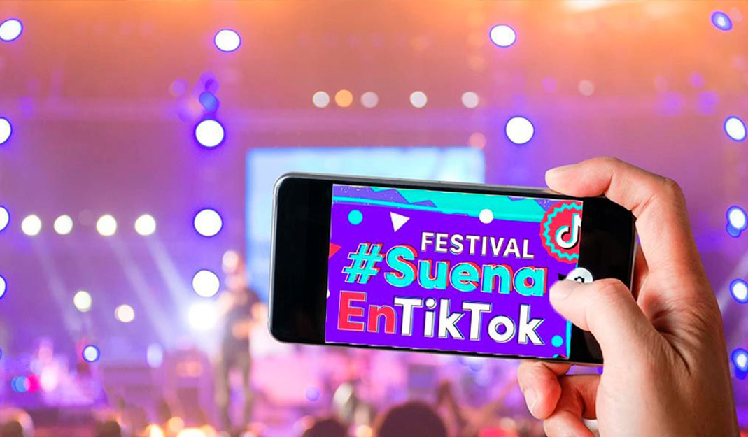 #SuenaEnTikTok: Banda el Recodo realizará un festival de música