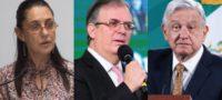 Opositores quieren poner a pelear a Ebrard y Sheinbaum; acusa AMLO sobre artículo de NYT