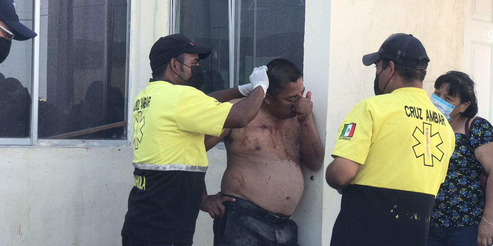 Policiaca: Lo dejan golpeado tras agredir a su esposa en colonia Campanario de Monclova