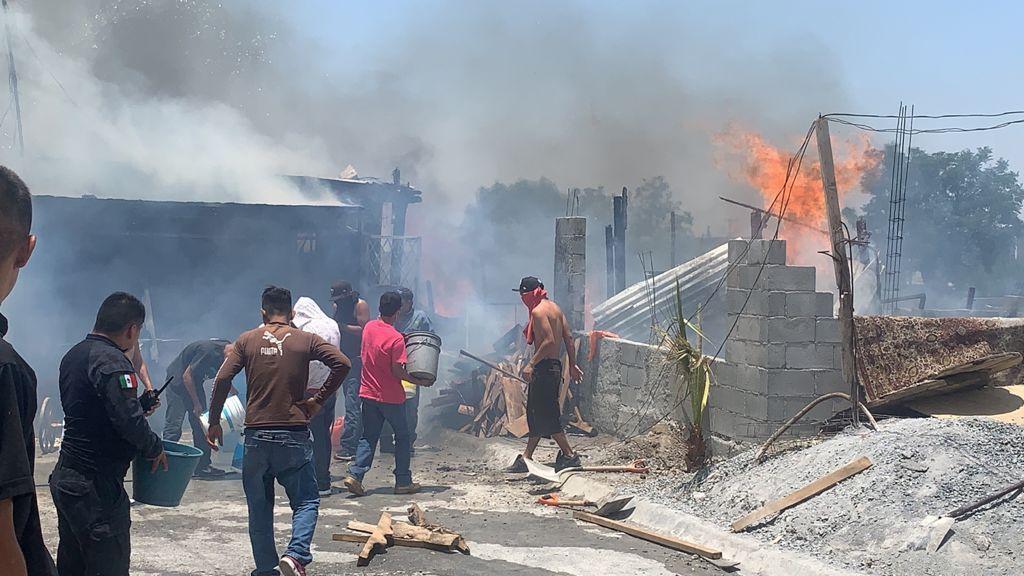 Fuerte incendio deja cuantiosos daños; no hay lesionados