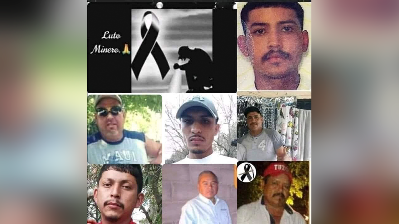 Mineros perdieron la vida tratando de ganársela; honran su memoria en Múzquiz, Coahuila