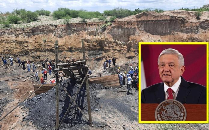 Envía AMLO pésame a familias de mineros de Múzquiz; se actuó pronto, aseveró