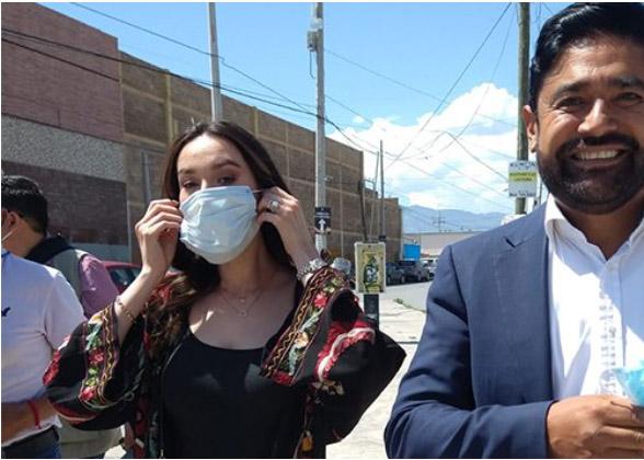 Ariel Maldonado Leza candidato de Morena ejerce el sufragio