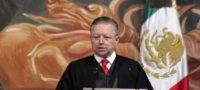Presenta Zaldívar documento para resolver su extensión de mandato en la Corte