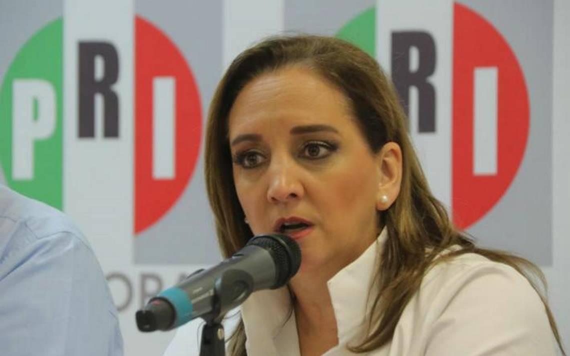 PRI seguirá el el bloque opositor, no habrá alianza con Morena: Claudia Ruiz Massieu