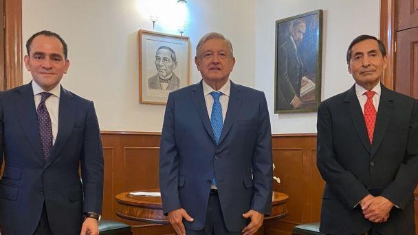 Con Herrera y Ramírez de la O se consolidará política económica de México, asevera AMLO