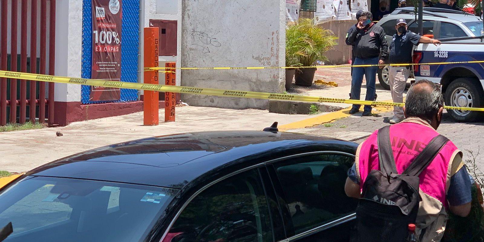 Lanzan granada en casilla electoral; los votantes huyeron del lugar