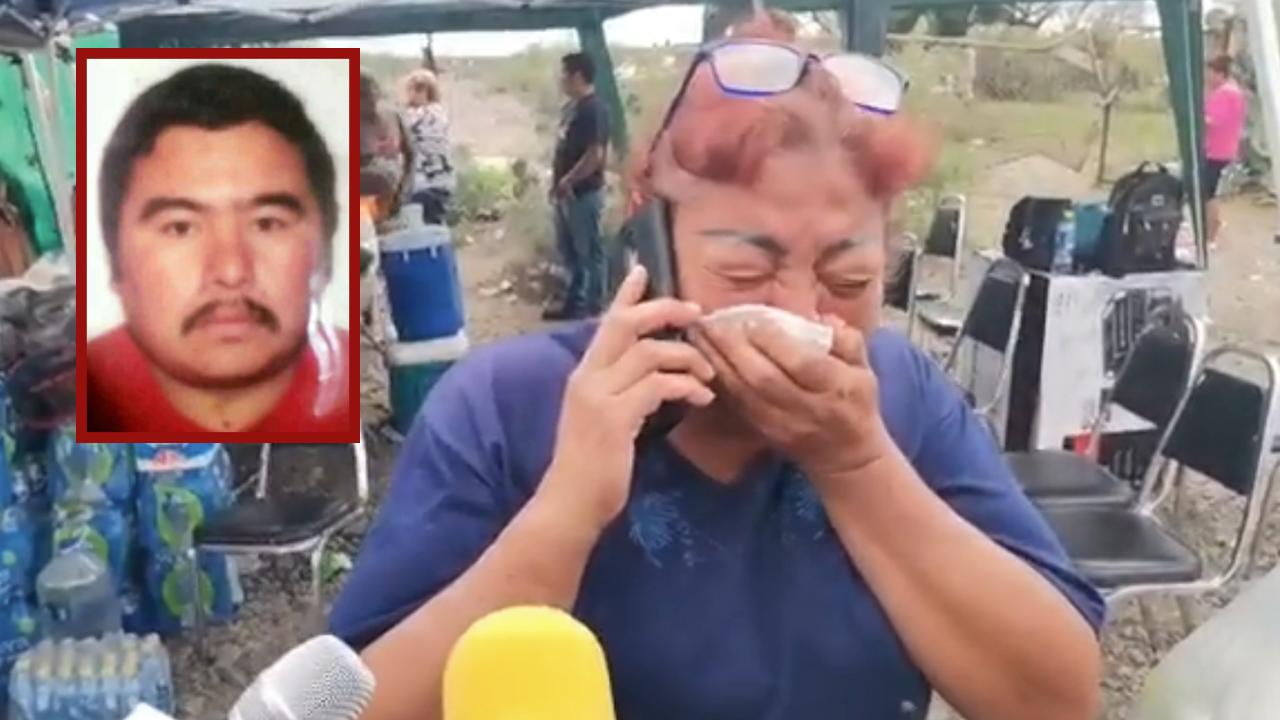 No pude decirle a mi hermano cuánto lo quiero: llora Juanita la muerte de Gonzalo, minero de Múzquiz