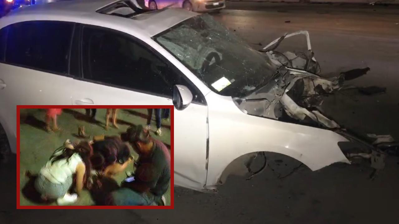 Amigo, aquí estamos, ¡no te vayas!; mujeres tras brutal accidente vial en Monclova