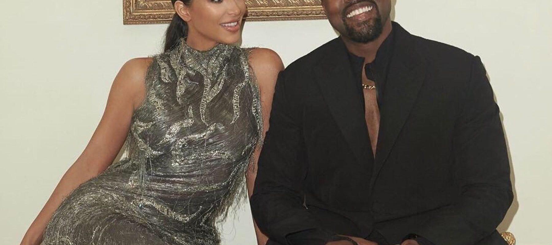 Kim Kardashian reacciona al nuevo romance de Kanye West con Irina Shayk