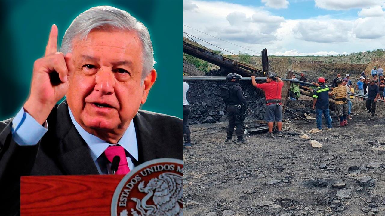 Va AMLO tras responsables de tragedia minera en Múzquiz; se viene la investigación