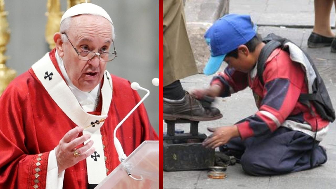 El papa Francisco pide que se elimine el trabajo infantil