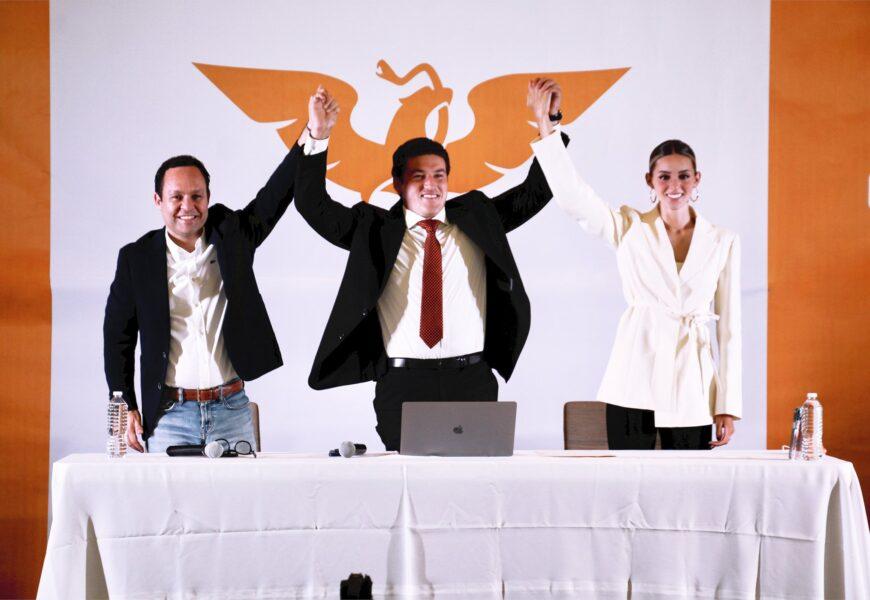 Samuel García a un paso de ser gobernador de NL; conteo rápido le da la victoria